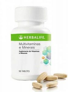 Multivitaminas e mineiras da herbalife